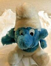 "Smurf Plush Stuffed Animal Toy Peyo 1979 Schleich Wallace Berrie Vintage 7"""