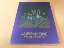 WANNA ONE 1-1=0 Nothin With You (Purple Ver.) CD w/Booklet + Photocard +Ticket