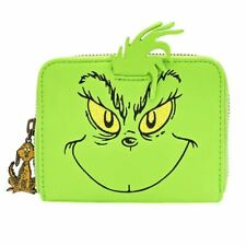 Loungefly x Dr. Seuss The Grinch Cosplay Zip-Around Purse Wallet