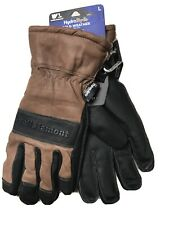 NEW Large L Wells Lamont HydraHyde Gloves - Thinsulate Leather Winter Work Snow