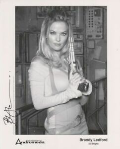 ANDROMEDA BRANDY LEDFORD  Doyle plus a personal photo hand signed