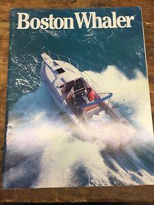 1988 Boston Whaler brochure catalog Boating Fishing   Magazine