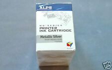 ALPS MD METALLIC SILVER CARTRIDGES KASSETTEN 5 PACK NEU OKI DP CITIZEN PRINTIVA
