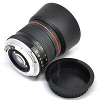 Jintu 85mm II f/1.8 Portrait Lens F Canon EOS 60D 70D 6D 7D 450D 550D AF Confirm