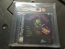 Oddworld: Abe's Oddysee (Sony PlayStation 1, 1997) Graded VGA 85+ GOLD