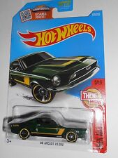HOT WHEELS '68 SHELBY GT500 THEN AND NOW 105/250 SHIPS FREE!