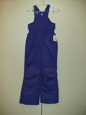 GIRLS SIZE 10/12 FADED GLORY SNOW PANTS PURPLE NWT