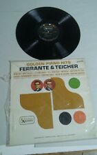 Golden Piano Hits Ferrante Teicher United Artists Record Album LP 33RPM