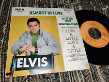 "ELVIS PRESLEY Almost in love/A little less conversation 45 7"" 1968 *FRANCE*"