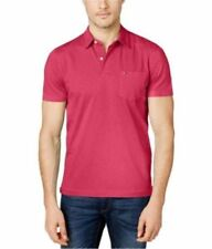 Tommy Hilfiger Short Sleeve Polo, Rugby Casual Shirts for Men