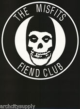 Poster : Music : Misfits - Fiend Club - Skull - Free Shipping ! Rap125 B