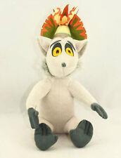 "Penguins of Madagascar King Julien Lemur 12"" Plush Stuffed X'mas Doll"