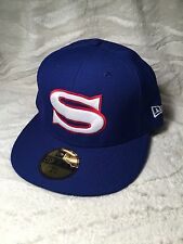 100% AUTHENTIC NEW ERA 59FIFTY SUPERMAN (S) FITTED HAT (7 3/8)