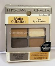 Physicians Formula Matte Collection Quad Eyeshadow, Canyon Classics, 0.22 Oz