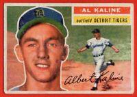 1956 Topps #20 Al Kaline VG-VGEX+  Detroit Tigers HOF FREE SHIPPING