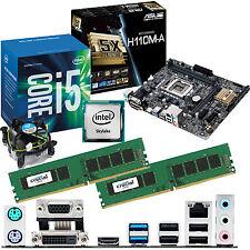 INTEL Core i5 6400 2.7Ghz & ASUS H110M-A & 8GB DDR4 2133 CRUCIAL Bundle