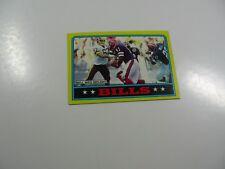 Buffalo Bills, 1986 Topps Coffman Bell Sees Daylight card #283