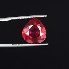 10.35 Ct./14 mm Brilliant Pear Cut Red Kunzite Loose Gemstone For Ring DI-817