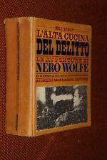 L'alta cucina del delitto Rex Stout Mondadori 1971 fo ^