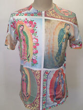 Urban Outfitters Men's T-Shirt Guadalupe White Size S NEW Catholic Virgin Mary