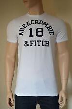 Nueva Abercrombie & Fitch Macnaughton Montaña Blanco # 18 Vintage Tee Camiseta Xl