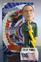 Colin Powell * AMERICAN GENERAL * Bobble Bobblehead SGA
