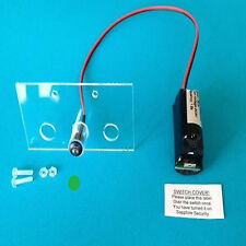 Intermitente LED de alarma de maniquí conmutable único verde y soporte 10 año Batería FM4 Pecado