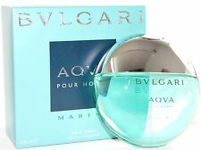 BVLGARI AQVA MARINE  3.4/3.3 OZ EDT SPRAY FOR MEN NEW IN A BOX BY BVLGARI