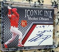 SHOHEI OHTANI 2018 Iconic Ink Rookie Card RC Los Angeles Angels