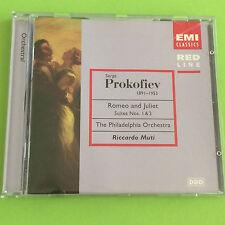 Romeo and Juliet Suites No. 1 & 2, Prokofiev, Riccardo Muti, Audio CD