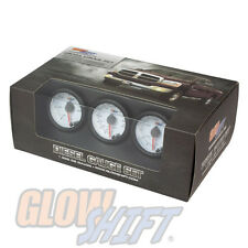 Used GlowShift White 7 Color Diesel Set 60 Boost 2400 EGT Transmission Temp