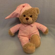 Adorable Bedtime Teddy Bear Soft & Cuddly Exc Condition Pink Pjs Sweet Dreams