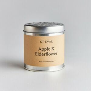 St Eval Candle Company Scented Tin Candle Apple and Elderflower
