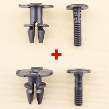 For BMW Trim Spacer Clips & Pin Kit 07147122912 07147122913 51717066226
