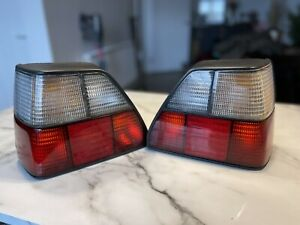 Mk2 Golf Fifft Red And White Rear Lights . Rare . Mint Gti VW Not Hella