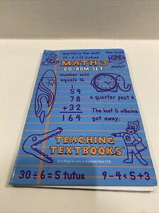 Teaching Textbooks Math 3 CD-Rom Set Homeschool Mathematics with serial number