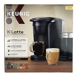 Keurig K-Latte Single Serve K-Cup Coffee and Latte Maker, Black