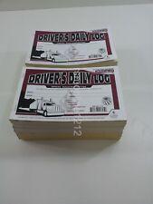 Lot of 25 JJ Keller 601LD Driver's Daily Log Book w/Detailed DVIR 2-Ply w/Carbon