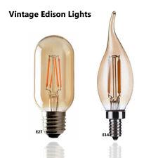 Vintage Filamento LED Edison Lampadina Regolabile E14 E27 Decorativa Industriale