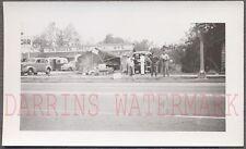Vintage Photo 1938 Chevolet Cars Roadside Fruit Stand Shuken Sheet Metal 731674