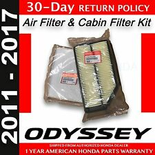 Genuine OEM Honda Odyssey Air & Cabin Filter Pack 2011 - 2017 Filters