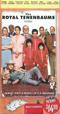 The Royal Tenenbaums VHS Ben Stiller Luke Wilson Owen Wilson Bill Murray Gene Ha