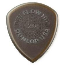 Dunlop 549P200 Flow Standard Grip Electric Guitar Picks 2.00mm 6-Pack Refill Bag