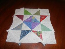 Plastic Templates & Assembly Crystal Star quilt