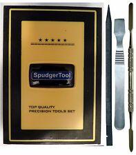 41 Piece Electronic Tool Set: 28 Bit Screwdriver Kit + Spudgers Tweezers Pry Bar