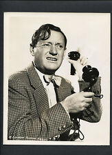 ROSCOE KARNS WITH ANTIQUE TELEPHONE - 1940 DBLWT - HOWARD HAWKS 'S GIRL FRIDAY
