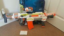 Nerf n grève module ECS-10 blaster, évolutif jouet dart pistolet