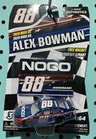 Alex Bowman #88 NASCAR Authentics Noco Patriotic 2020 Wave 8 1/64 Die-Cast