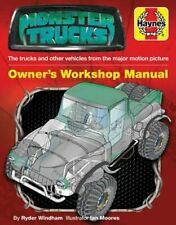 Monster Trucks Manual: The trucks and other vehicles from the major motion: New