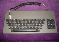 Ancient (1982) keyboard in a metal case CHERRY UB89-0009. Rare connector.